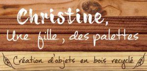 logo christine palettes