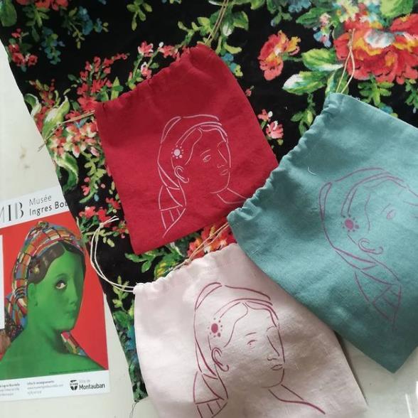 pochettes de couleurs