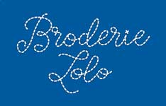 Logo broderie Lolo